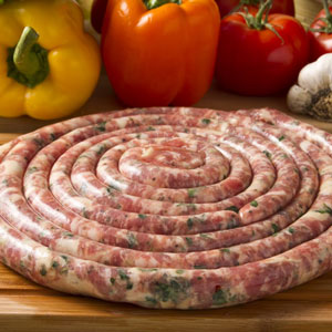 Sausage With Provolone & Parsley