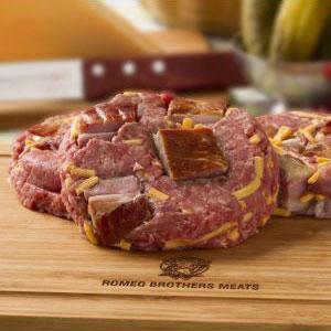 Bacon & Cheddar Steak Burger